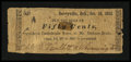 Obsoletes By State:Arkansas, Berryville, AR- Unidentified Issuer 50¢ Oct. 16, 1862 Rothert UNL. ...