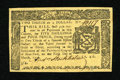 Colonial Notes:New York, New York March 5, 1776 $2/3 Very Choice New....