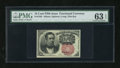 Fractional Currency:Fifth Issue, Fr. 1265 10c Fifth Issue PMG Choice Uncirculated 63 EPQ....