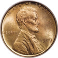 Lincoln Cents, 1909 1C VDB DDO MS65 Red PCGS....