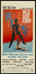 "Movie Posters:Musical, West Side Story (United Artists, 1961). Italian Lacandino (13"" X27""). Musical. Starring Natalie Wood, Richard Beymer, Russ ..."