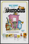 "Movie Posters:Animated, The Aristocats (Buena Vista, 1970). One Sheet (27"" X 41""), French Lobby Cards (11) (9"" X 11.25""), Lobby Cards (2) (11"" X 14""... (Total: 15)"