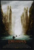 """Movie Posters:Fantasy, The Lord of the Rings: The Fellowship of the Ring (New Line, 2001).One Sheet (27"""" X 41"""") Advance. DS. Fantasy. Starring Eli..."""
