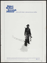 """Jeremiah Johnson (Warner Brothers, 1972). Poster (30"""" X 40"""") Style C. Western. Starring Robert Redford, Will G..."""