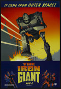 "Movie Posters:Animated, The Iron Giant (Warner Brothers, 1999). One Sheet (27"" X 41"") SS.Animated. Starring the voices of Jennifer Aniston, Harry C..."