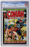 Bronze Age (1970-1979):Miscellaneous, Conan the Barbarian #17 (Marvel, 1972) CGC VF- 7.5 White pages....