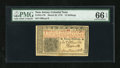 Colonial Notes:New Jersey, New Jersey March 25, 1776 12s PMG Gem Uncirculated 66 EPQ....