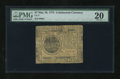 Colonial Notes:Continental Congress Issues, Continental Currency May 10, 1775 $7 PMG Very Fine 20....