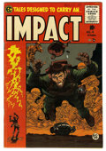Golden Age (1938-1955):Horror, Impact #4 (EC, 1955) Condition: FN+....