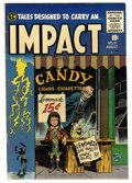 Golden Age (1938-1955):Horror, Impact #3 (EC, 1955) Condition: FN....