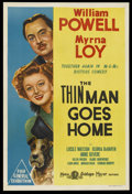 "Movie Posters:Mystery, The Thin Man Goes Home (MGM, 1945). Australian One Sheet (27"" X40""). Mystery. Starring William Powell, Myrna Loy, Lucile Wa..."