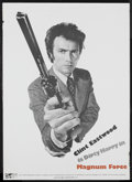 "Movie Posters:Action, Magnum Force (Warner Brothers, 1973). Promotional Poster (20"" X28""). Action. Starring Clint Eastwood, Hal Holbrook, Mitch R..."