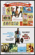 "Movie Posters:Adventure, Disney Live Action Lot (Buena Vista, 1970s). Half Sheets (7) (22"" X28""). Adventure. ""Charley and the Angel,"" ""The Bears and... (Total:7)"