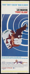 "Movie Posters:Crime, Point Blank (MGM, 1967). Insert (14"" X 36""). Crime. Starring LeeMarvin, Angie Dickinson, Keenan Wynn, Carroll O'Connor, Llo..."