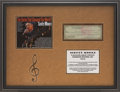 Music Memorabilia:Autographs and Signed Items, Elvis Presley Related - Scotty Moore Signed Check Display....