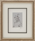 Music Memorabilia:Original Art, Grateful Dead's Jerry Garcia Danse Limited EditionArtwork....