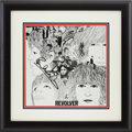 Music Memorabilia:Autographs and Signed Items, Beatles Related - Paul McCartney Signed Revolver Album Cover....