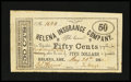Obsoletes By State:Arkansas, Helena, AR- Helena Insurance Company 50¢ May 20, 1862 Rothert 281-2B. ...