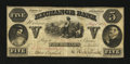 Obsoletes By State:Arkansas, Helena, AR- Exchange Bank $5 Aug. 3, 1861 Rothert 279-1. ...
