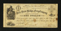 Obsoletes By State:Arkansas, Fort Smith, AR- Belle Point Bridge & Ferry Company $1 March 1, 1868 Rothert 225-1. ...