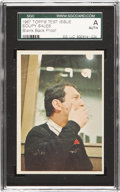"Non-Sport Cards:Singles (Post-1950), 1967 Topps Test ""Soupy Sales"" Color Blank Back Proof SGCAuthentic...."