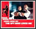 "Movie Posters:James Bond, The Spy Who Loved Me (United Artists, 1977). Lobby Card Set of 8 (11"" X 14""). James Bond.. ... (Total: 8 Items)"