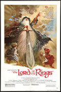 """Movie Posters:Animated, The Lord of the Rings (United Artists, 1978). One Sheet (27"""" X 41"""")Style A and Program (8.75"""" X 11.75""""). Animated.. ... (Total: 2Items)"""