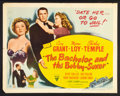 "Movie Posters:Comedy, The Bachelor and the Bobby Soxer (RKO, 1947). Half Sheet (22"" X 28"") Style B. Comedy.. ..."