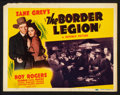 """Movie Posters:Western, The Border Legion (Republic, 1940). Lobby Card Set of 8 (11"""" X 14""""). Western.. ... (Total: 8 Items)"""