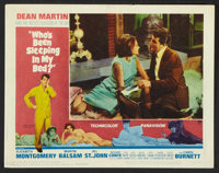 """Who's Been Sleeping in My Bed? (Paramount, 1963). Lobby Card Set of 8 (11"""" X 14""""). Comedy. ... (Total: 8 Items..."""