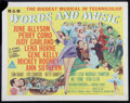 """Movie Posters:Musical, Words and Music (MGM, 1948). Half Sheet (22"""" X 28"""") Style A.Musical.. ..."""