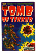 Golden Age (1938-1955):Horror, Tomb of Terror #13 (Harvey, 1954) Condition: FN/VF....