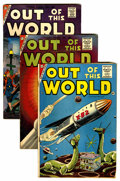 Silver Age (1956-1969):Horror, Out of This World Group (Charlton, 1956-59) Condition: AverageFR/GD.... (Total: 11 Comic Books)