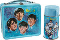 Music Memorabilia:Memorabilia, The Beatles Vintage Lunchbox with Thermos.... (Total: 2 )