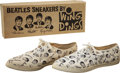 Music Memorabilia:Costumes, Beatles Wing Dings Sneakers....