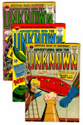 Silver Age (1956-1969):Horror, Adventures Into The Unknown Group (ACG, 1958-67) Condition: AverageVG.... (Total: 7 Comic Books)