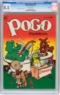 Golden Age (1938-1955):Funny Animal, Pogo Possum #9 File Copy (Dell, 1952) CGC VF+ 8.5 Off-whitepages....