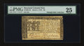 Colonial Notes:Maryland, Maryland March 1, 1770 $6 PMG Very Fine 25....