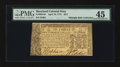 Colonial Notes:Maryland, Maryland April 10, 1774 $2/3 PMG Choice Extremely Fine 45....