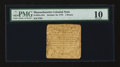 Colonial Notes:Massachusetts, Massachusetts October 16, 1778 2d PMG Very Good 10....