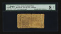 Colonial Notes:New Jersey, New Jersey June 22, 1756 6s PMG Very Good 8 Net....