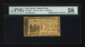 Colonial Notes:New Jersey, New Jersey June 22, 1756 15s PMG Choice About Unc 58....