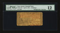 Colonial Notes:New Jersey, New Jersey April 8, 1762 15s PMG Fine 12....