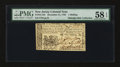 Colonial Notes:New Jersey, New Jersey December 31, 1763 1s PMG Choice About Unc 58 EPQ....