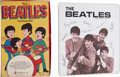 Music Memorabilia:Memorabilia, The Beatles Vintage Binder and Colorforms Set.... (Total: 2 )