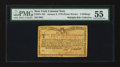 Colonial Notes:New York, New York January 6, 1776 (Water Works) 2s PMG About Uncirculated55....