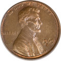 Lincoln Cents, 1969-S 1C Doubled Die AU55 PCGS....