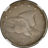 1855 E1C Flying Eagle Cent, Judd-171A, Pollock-196, Low R.7, PR53 NGC....(PCGS# 11737)