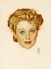 NORMAN ROCKWELL (American, 1894-1978) The Magnificent Ambersons, Dolores Costello movie poster, circa 1