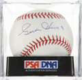 Autographs:Baseballs, Gordie Howe Single Signed Baseball PSA Gem Mint 10....